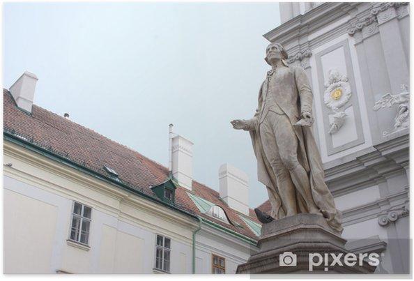 Poster Vienne. Monument Haydn. - Europe