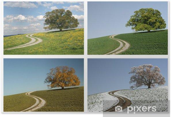 Vier Jahreszeiten Poster - Seasons