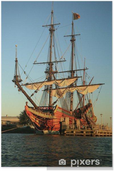 Poster Vieux bateau - Batavia - Bateaux