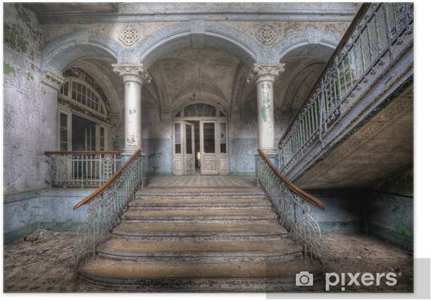 Poster Vieux escaliers à Beelitz - Thèmes