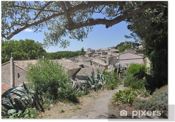 Poster Village de provence - Europe