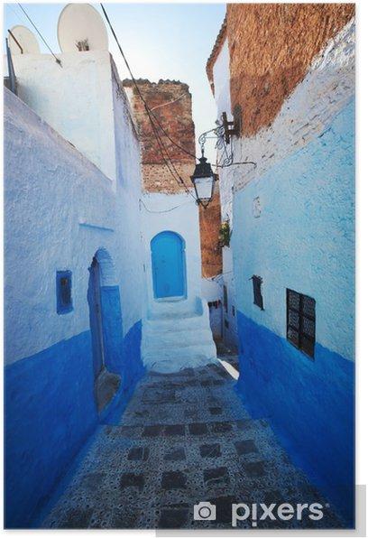 Poster Ville au Maroc - Afrique