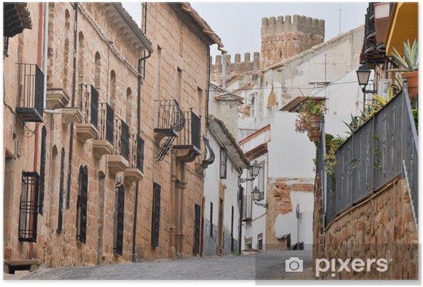 Poster Ville de Baños de la Encina, Jaen (Espagne) - Europe