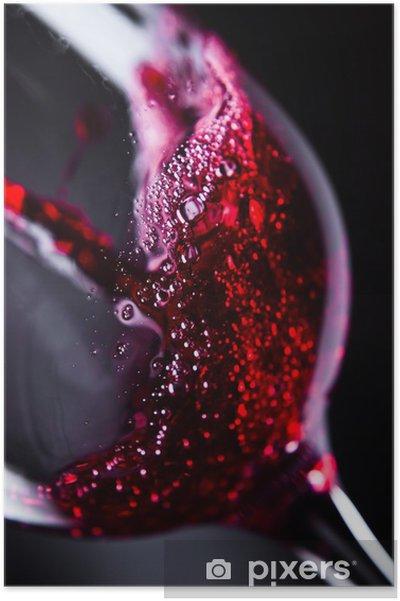 Poster Vin rouge - Thèmes