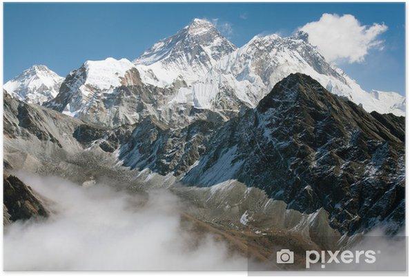 Póster Vista del Everest desde Gokyo Ri - Temas