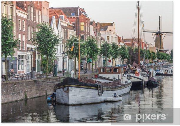 Poster Voir à Rotterdam, Pays-Bas - Europe
