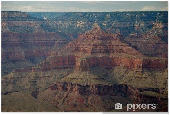 Poster Voir détail sur le Grand Canyon Rim Arizona Suth - Amérique