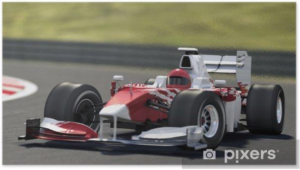 Poster Voiture de course Formule Un. - Thèmes