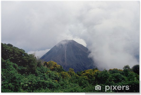 Poster Volcan en sommeil. - Merveilles naturelles