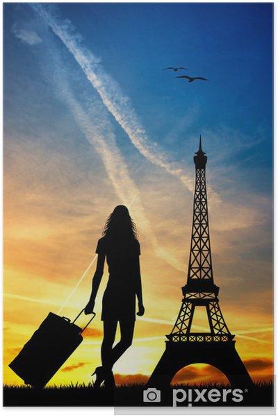 Poster Voyage à Paris - Villes européennes
