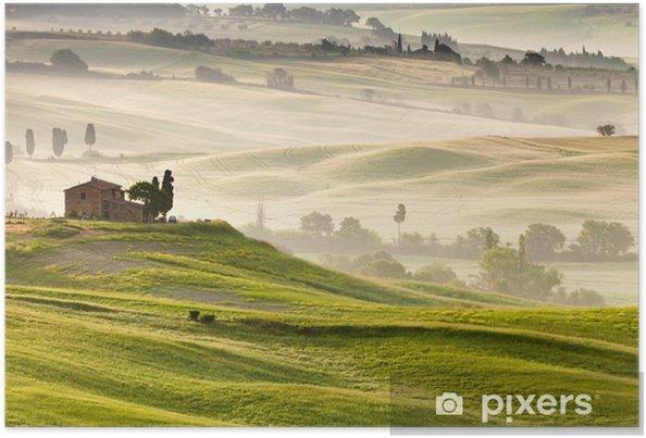 Poster Vroeg in de ochtend in Toscane - Thema's