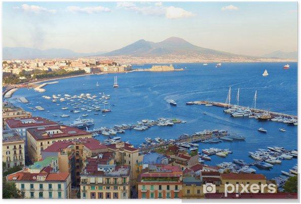 Poster Vue sur la baie de Naples - iStaging