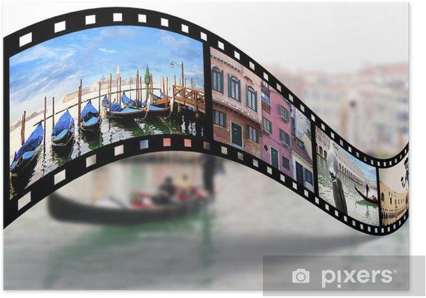 Poster Vue sur Venise - Villes européennes