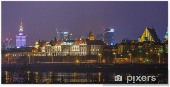 Poster Warszawa - Thema's