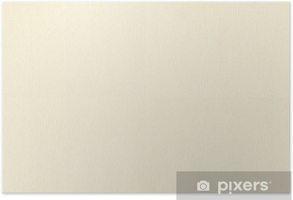 Watercolor paper texture Poster
