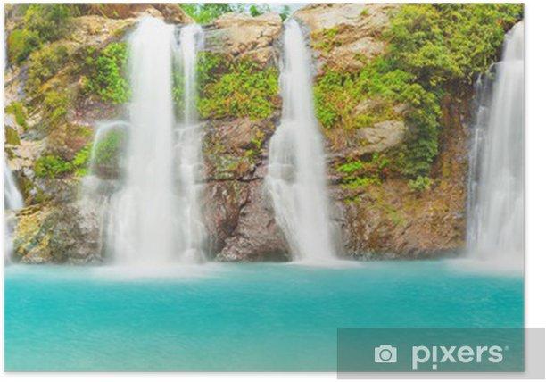 Poster Waterfall panorama - Thèmes