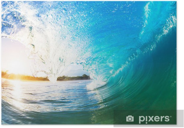 Póster Wave ocean - Temas