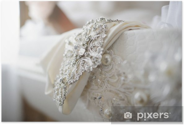 Wedding Dress Decoration Close Up Poster Pixers We Live To Change