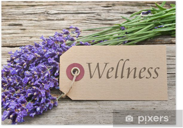 Poster Wellness - Beauté et soins du corps