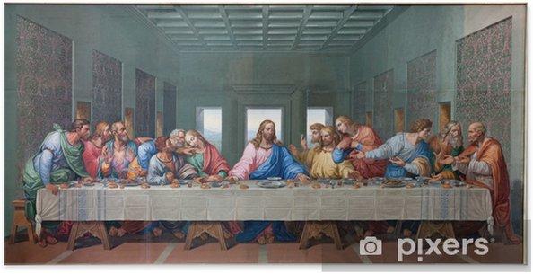 Poster Wenen - Mozaïek van Laatste Avondmaal - Leonardo da Vinci kopie - Thema's