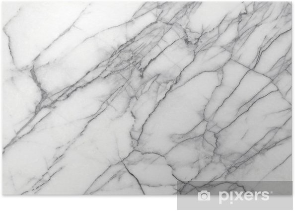 White Marble (High.Res.) Poster - iStaging