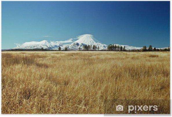 Poster White mountain - Océanie