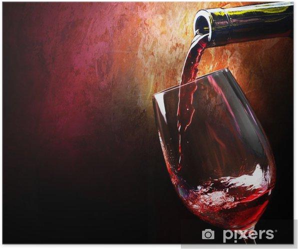 Poster Wijn - Wijn