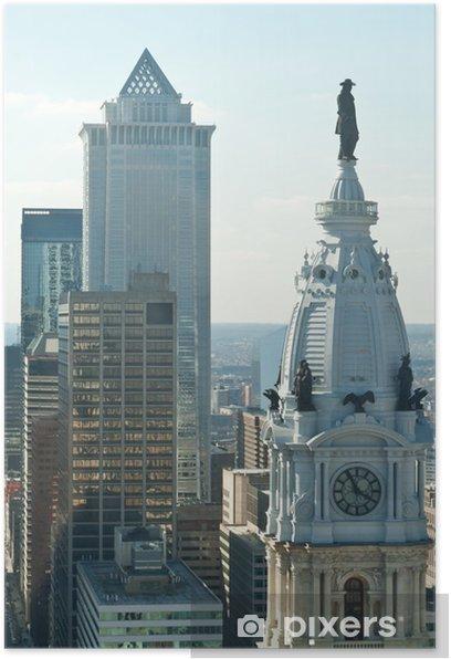 William Penn Statue City Hall Philadelphia PA Poster - America