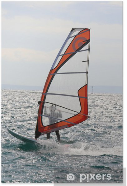 windsurf Poster - Water Sports