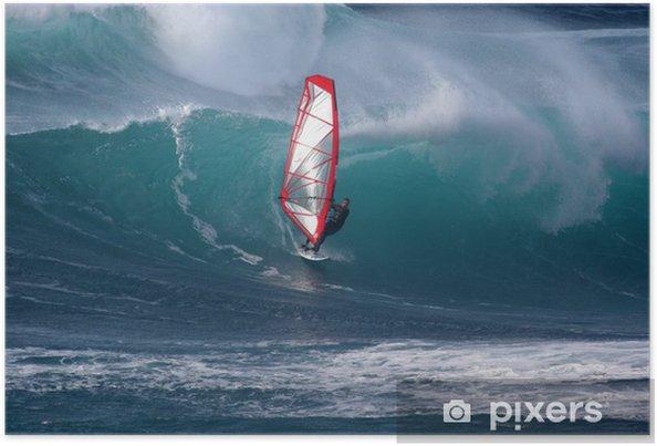 Poster Windsurfen - Vacances