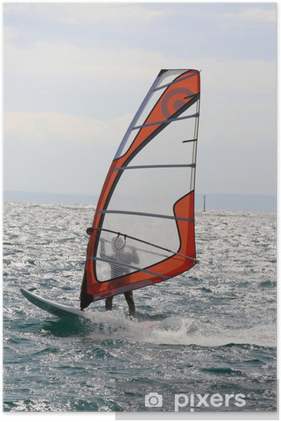 Poster Windsurfen - Watersporten