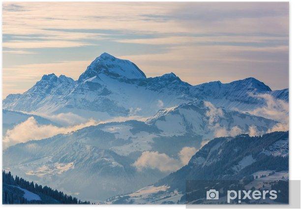 Winter Landscape Poster - Landscapes