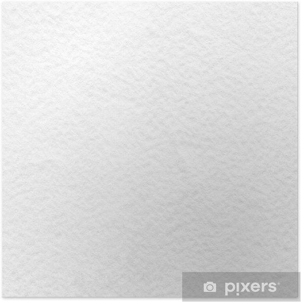 495f302bb03 Poster Witte aquarel papier textuur als achtergrond
