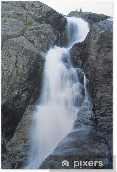Poster Wodospad Siklawa w Tatrach Wysokich - Vacances