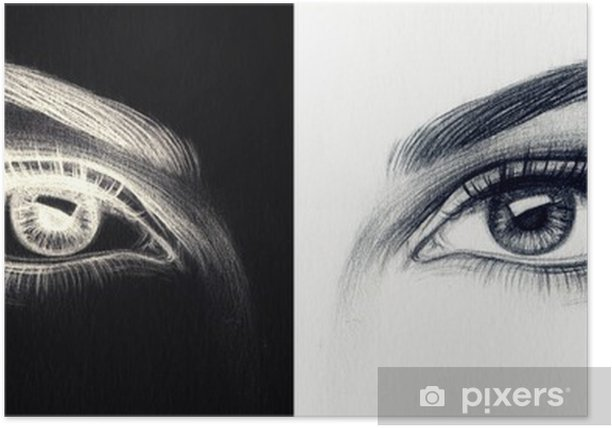 woman eyes Poster - Themes