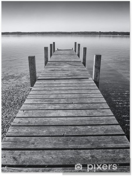 Poster Wooden jetty - Styles