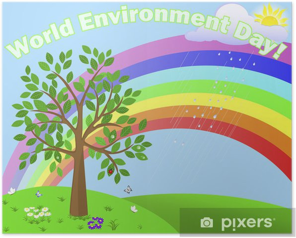 World Environment Day Poster Pixers We Live To Change