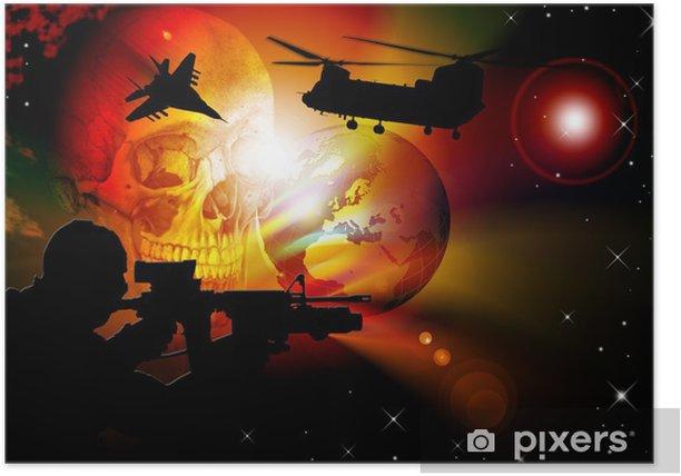 Poster World war - Thèmes