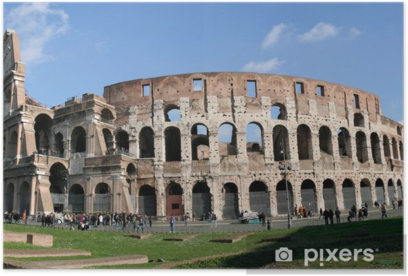 Xxl Colosseum Collage Poster