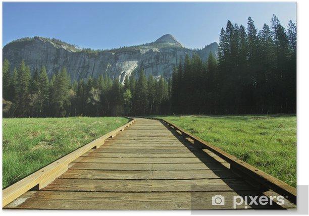 Yosemite Poster - Mountains