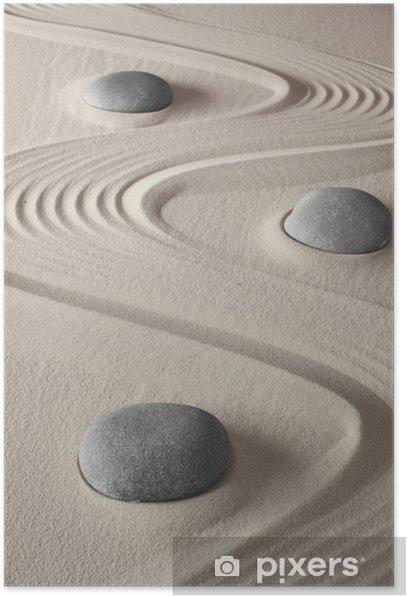 zen garden Poster - iStaging