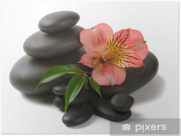 Poster Zen stones - Beauté et soins du corps