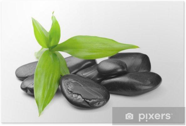 Poster Zen stones - Santé et médecine