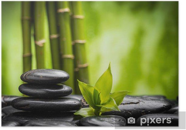 zen stones Poster - Styles