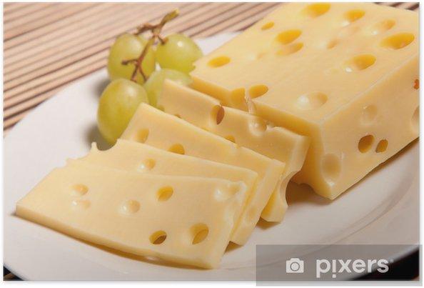poster zwitserse kaas • pixers® - we leven om te veranderen