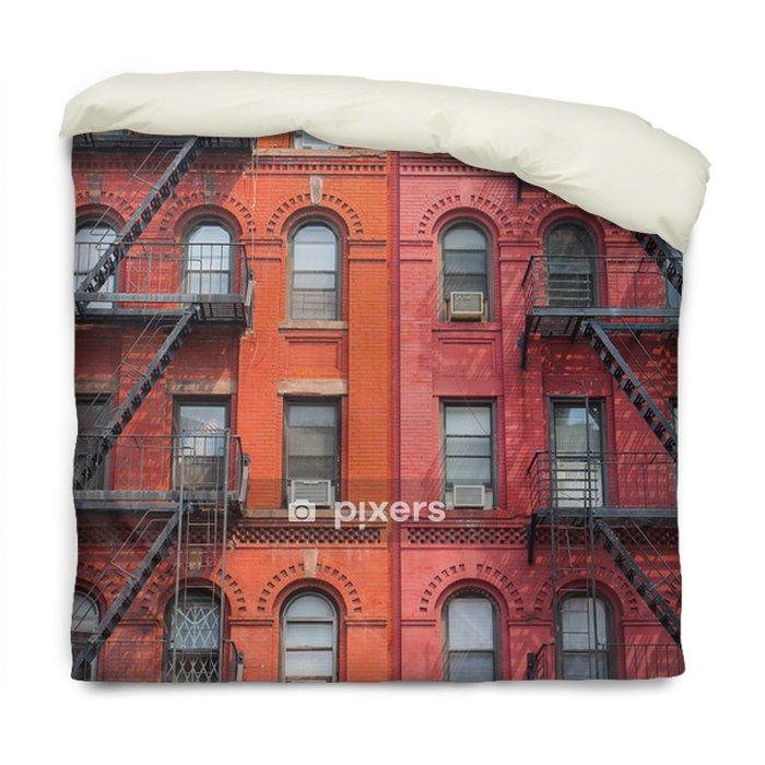 Poszewka na kołdrę Szczegół Nowym Jorku budynków - Miasta amerykańskie