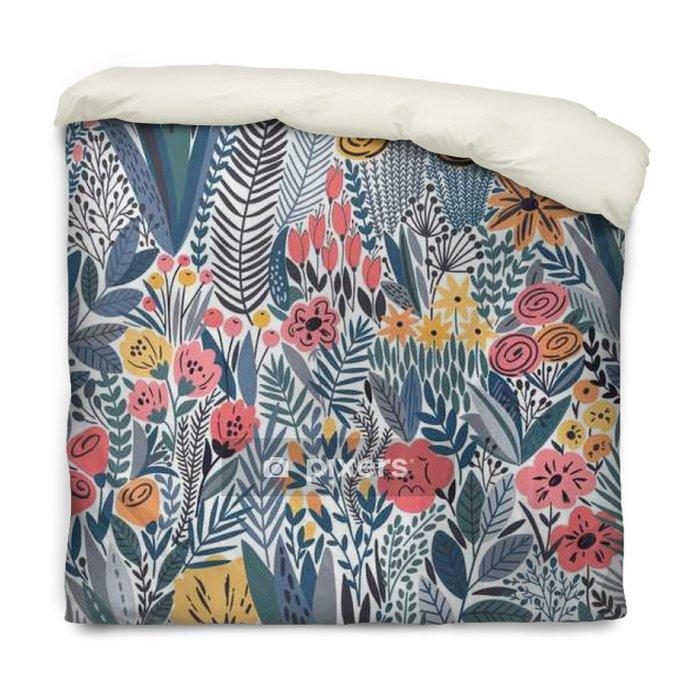 Poszewka na kołdrę Tropical szwu kwiatowy wzór - Rośliny i kwiaty