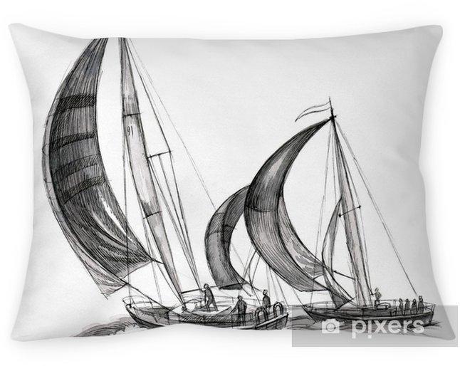 Poszewka na poduszkę Statki morskie - iStaging