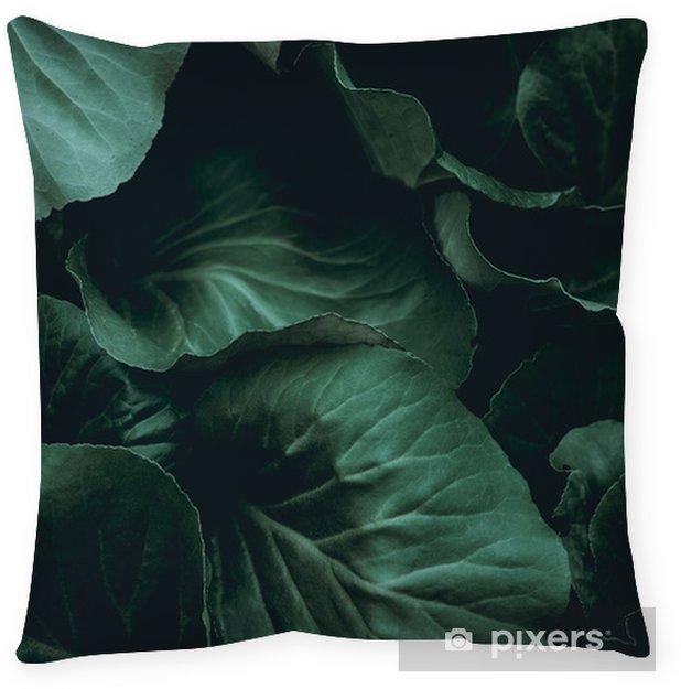 Poszewka na poduszkę Tło roślin - Zasoby graficzne