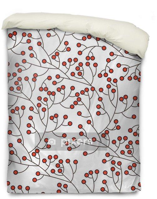 Povlak na přikrývku Květinové textury - Pozadí